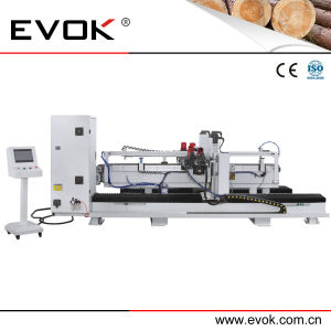 Newest Design Automatic Wood Door Frame Angle Cutting Machine with 45 Degree (JZ2402) pictures & photos