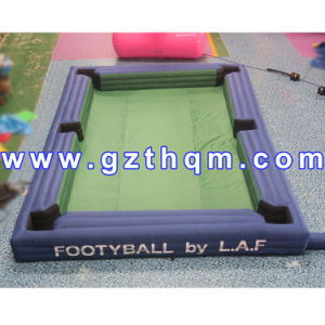 Inflatable Snooker Football Field /Inflatable Billiard Ball for Foot Snook Game pictures & photos