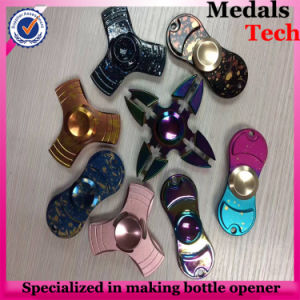 Wholesale Custom Alloy Metal Engraved Logo Hand Spinner pictures & photos