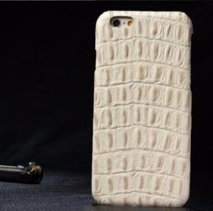 Fashion Crocodile Back Pattern Genuine Leather Phone Cases for iPhone Case pictures & photos