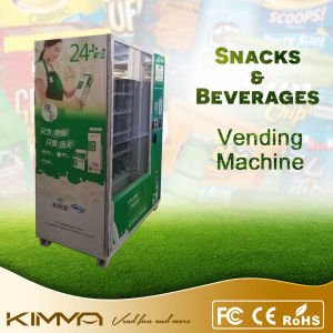 Popcorn Combo Vending Machine with Coin Acceptor pictures & photos