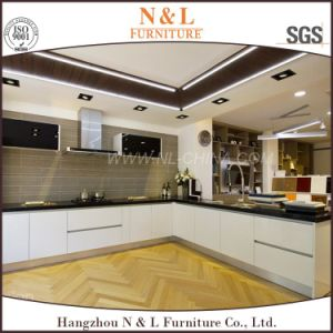 N & L 2016 Tow Pack High Gloss Kitchen Cabinets Custom Cabinetry pictures & photos