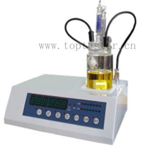 Digital Karl Fischer Oil Moisture and Water Content Tester (TP-6A) pictures & photos