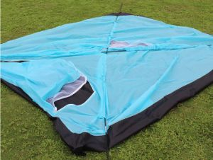 Outdoor Tent 4person Higking Mountain Camping Outdoor Double Rainproof Tent pictures & photos