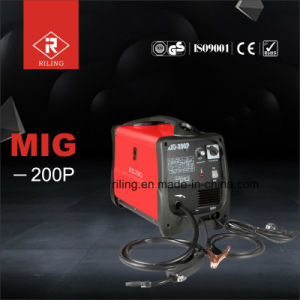 Gas/No Gas MIG Welder with Ce (MIG-175P/195P/200P) pictures & photos
