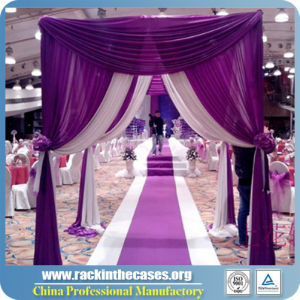 Telescopic Aluminum Pipe and Drape Kit Wedding Backdrop pictures & photos