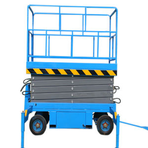 Lifting Equipment Mobile Scissor Lift (Max Height 6m) pictures & photos