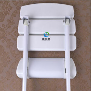 Safety Wall Mounted Folded Bathroom Chair Handicap Shower Stool pictures & photos