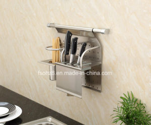 Stainless Steel Kitchen Rack for Bottle and Knife (301) pictures & photos