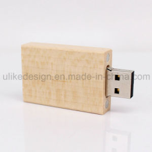 Simple Design Wooden USB Flash Drive (UL-W010-01) pictures & photos