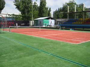 Artificial Grass, Tennis Grass, Grass for Tennis Field (SF25g8) pictures & photos