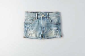 Fashion Women Hi-Rise Cheeky Super Short pictures & photos