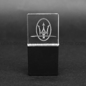 Hotest Crystal USB Flash drive with 3D Logo (UL-C015) pictures & photos