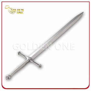 Fashion Silver Plated Sword Shape Metal Letter Opener pictures & photos