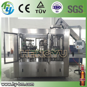 Automatic Crown Cap Glass Bottled Beverage Filling and Capping Machine for Beer pictures & photos
