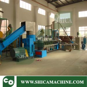 Waste Film Plastic Pelletizer Line with Compactor pictures & photos