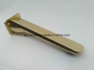 12 Years Experienced Faucet Factory Future-Proof Matte Gold Bath Spout pictures & photos