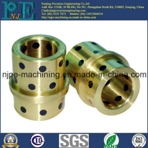 High Precision CNC Machining Brass Tube Sleeve pictures & photos