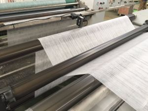 Thinner 14gr Non-Woven Slitting Machine pictures & photos