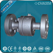 Forged Steel Metal Seated Floating Ball Valve pictures & photos