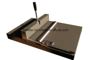 SM-460B manual creasing machine with creasing double creasing perforating pictures & photos