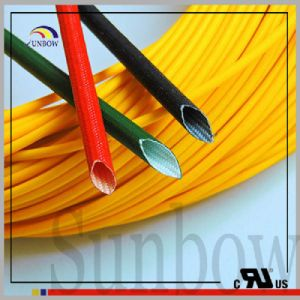 Sunbow UL1441 Fray Resist Flame Retardant Silicone Fiberglass Sleeving Sb=B-SGS-15 pictures & photos