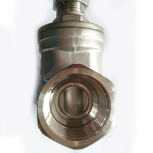 ANSI Thread Gate Valve with 200wog pictures & photos