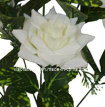 Artificial/Plastic/Silk Flower Single Stem of Rose (XF30031) pictures & photos