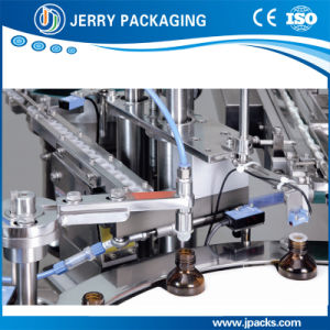 Eye Drops & Liquid Medicine Bottle Bottling Filling Plugging Capping Machine pictures & photos
