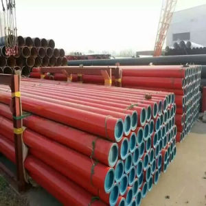 Black or Red Paint Coating Seamless Steel Pipe / Tube pictures & photos