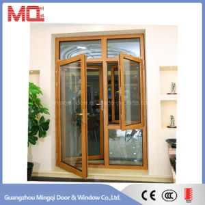 Aluminum Casement Door Exterior Door with Opening Window pictures & photos