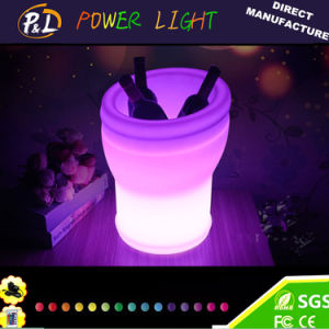 Champagne Ice Bucket with Cordless LED Lighting pictures & photos
