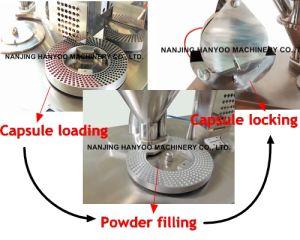 GMP High Quality Semi-Automatic Mini Capsule Filling Machine Mini Capsule Filler pictures & photos