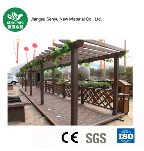 Outdoor/Garden WPC Wood Plastic Composite Pergola pictures & photos