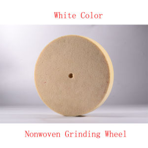 "8""X1"" 12p Abrasives Nonwoven Wheel Resin Bond Grinding Wheel Surface Conditioning Wheels pictures & photos"