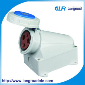 63A IP67 Cee Power Socket for Industrial Panel Mounted pictures & photos