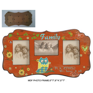 Handmade Owl Wooden Picture Photo Frame pictures & photos