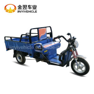 800W 60V 72V Electric Cargo Tricycle with Dual Drum Brakes pictures & photos