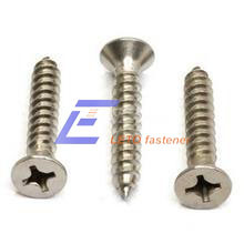 ISO 7050-Cross Recessed Countersunk Head Tapping Screws pictures & photos