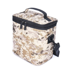 Detachable Shoulder Strap Desert Camo Lunch Cooler Insulated Bag for Work Men pictures & photos
