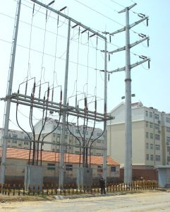 Export Angle Steel Transmission Line Tower pictures & photos