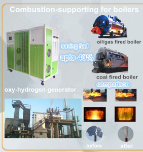 Hydrogen as Fuel Industrial Gas Oil Coal Fired Steam Boiler Hho Generator for Boiler pictures & photos