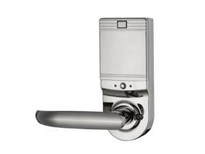 Password Safe Door Lock with Password Keypad, Key Unlock, Low Voltage Alarm (UL-480) pictures & photos