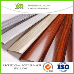 Aluminium Wood Grain Finish Powder Coating Price pictures & photos