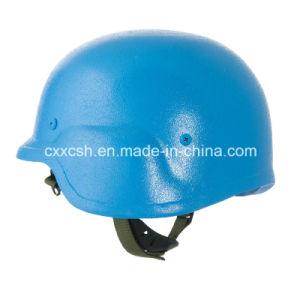 UN Blue Pasgt Military Kevlar Bulletproof Helmet pictures & photos