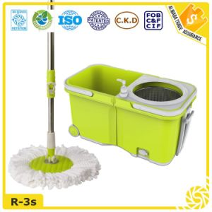 2016 Hottest New 360 Household Cleaning Easy Mop with Wheels pictures & photos