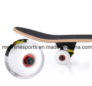 Logo Printed Skateboard Scooter with Flashing PU Wheels Can OEM/ODM pictures & photos