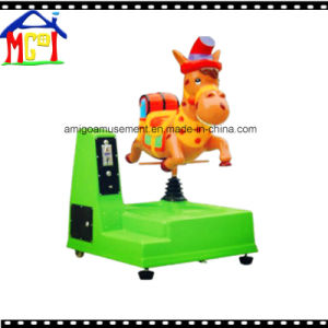 Coin Operated Game Machine Kid′s Swing Ride Little Dinosaur pictures & photos