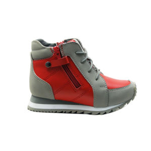 School Shoes with Ankle Pad for Protective Waling pictures & photos