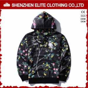 Fashion Knitting Men Polyester Hooded Sweater Pullover (ELTHSJ-951) pictures & photos